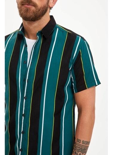 DeFacto Gömlek Yeşil